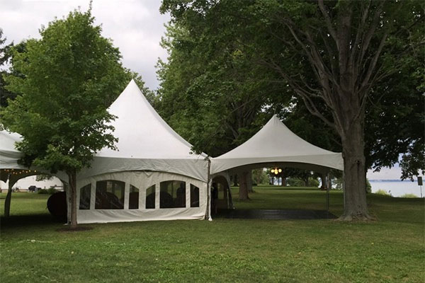 Rent canopy tents at ABC Rental Center serving the Cleveland Metro Area