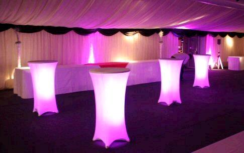 Light Up Tables Rentals Cleveland Oh Where To Rent Light