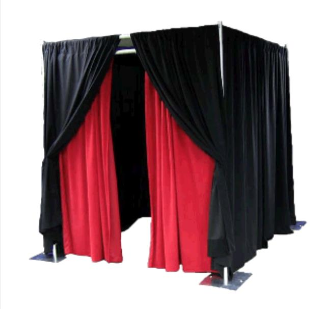Where to find 8  x 10  PIPE   DRAPE SQUARE BOOTH in Cleveland