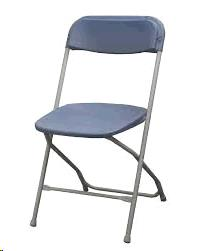 Where to find BLUE PLASTIC CHAIR - FOR SALE in Cleveland