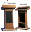 Rental store for PODIUM - WOODEN WITH P.A. SYSTEM in Cleveland OH