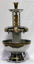 Rental store for CHAMPAGNE PUNCH FOUNTAIN-SILVER GOLD in Cleveland OH